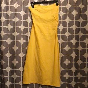 Mods International Small Yellow Tube Dress